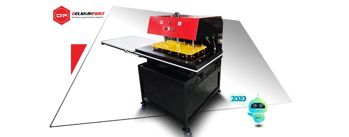 پرس حرارتی ۱۰۰ در ۸۰ هیدرولیک