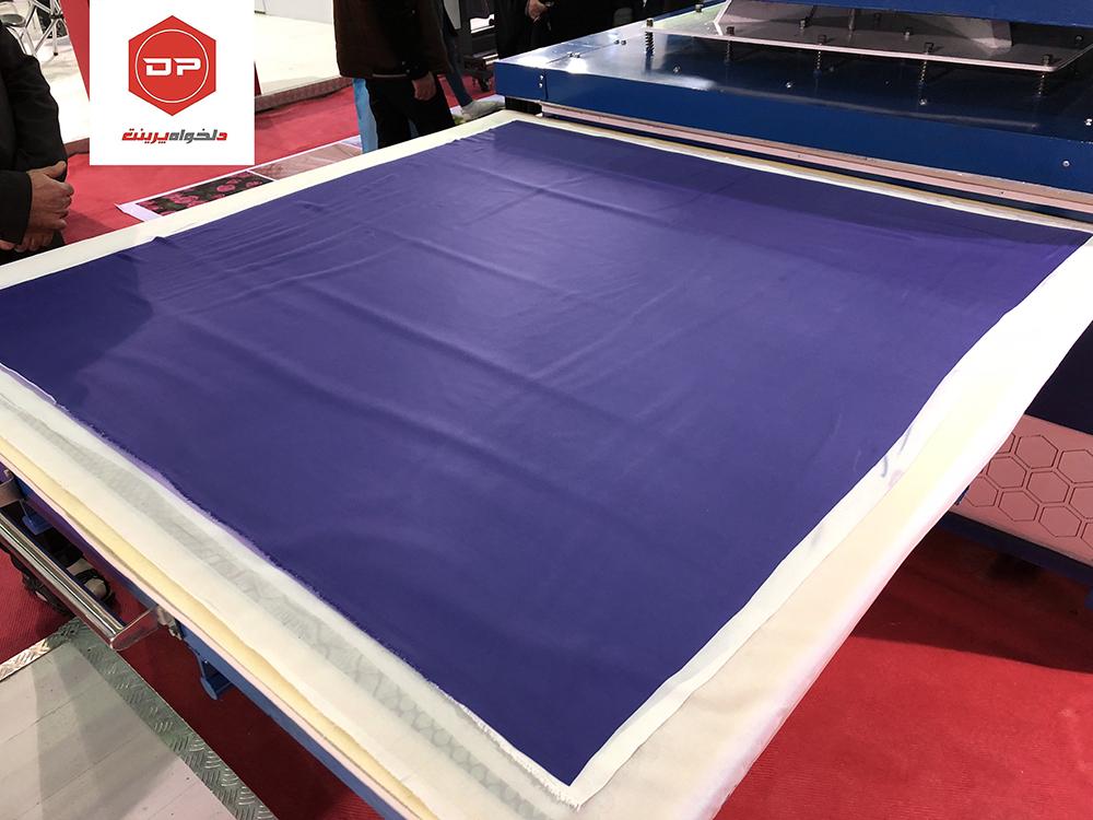 نمایش یکدستی و یکنواختی چاپ در سایز بزرگ