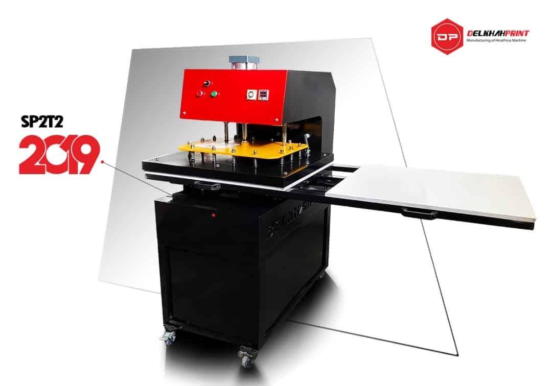دستگاه چاپ حرارتی پنوماتیک ۶۰ در ۸۰